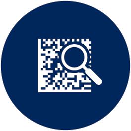 Icono lector de códigos